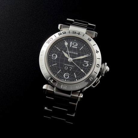 Cartier Pasha GMT Big Data Automatic // // 32.178 c.1990's // Pre-Owned