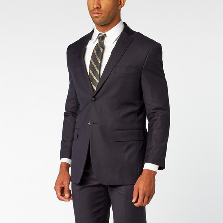 Fellini // Single breasted Classic Suit // Navy