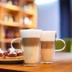 AMO // 2-Piece Latte Double-Wall Glass // 320mL