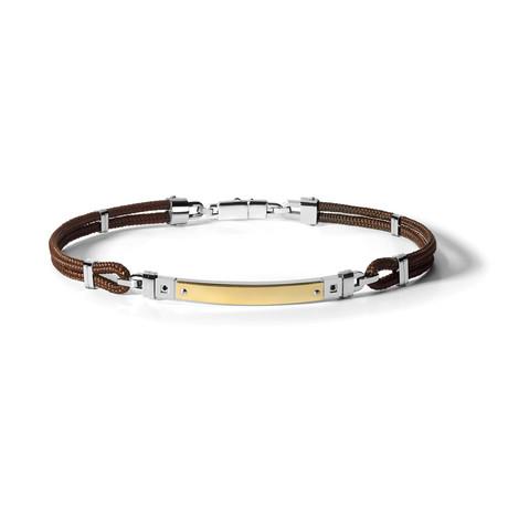 Familia Bracelet // Brown Cord