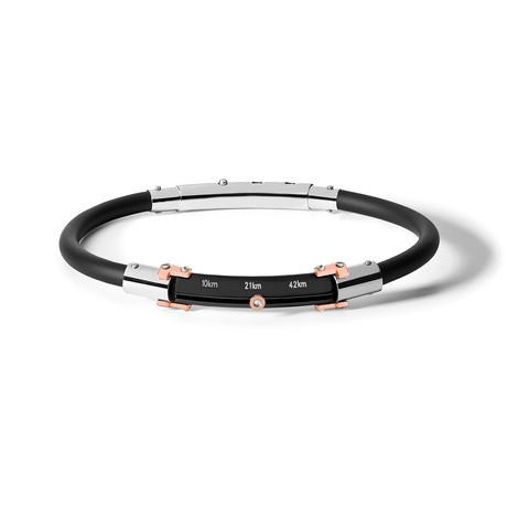 Marathon Armband // Black Rubber