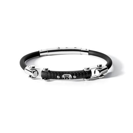 8 Cylinder Bracelet // Rubber