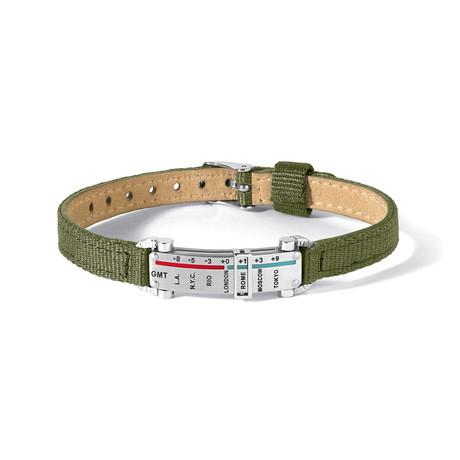 Meridiani Bracelet // Green