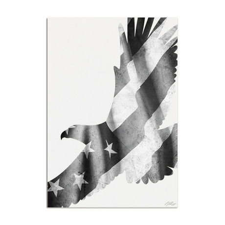 Freedom Eagle // Black + White