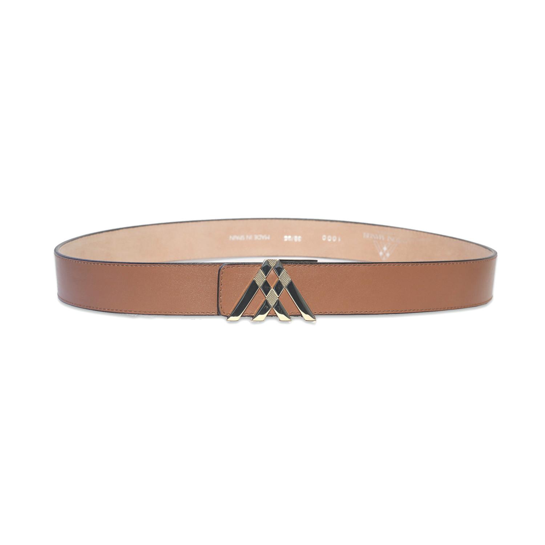 soft leather pavilion belt medium 38 quot antoni