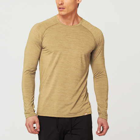Path Long-Sleeve Tee // Olive