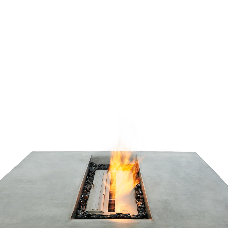 Brown Jordan Fires // Flo Fire Pit Coffee Table (Black ...