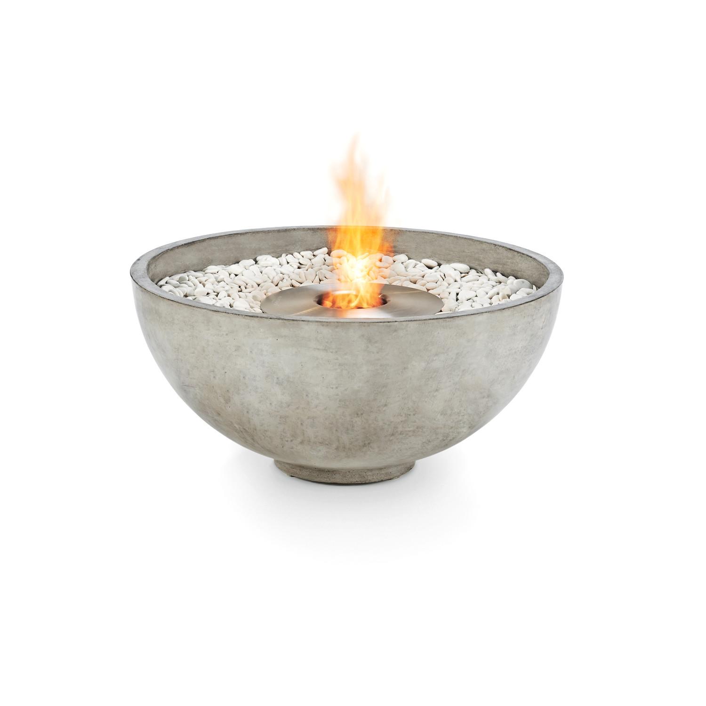 Brown Jordan Fires Urth Bowl Fire Pit Natural Gray