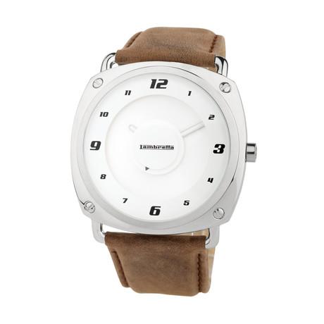 Brunori Leather Quartz // 2074BRO