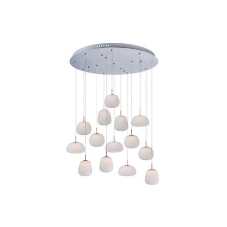 ET2 Rookwolken 14-Light Pendant // E21129-11WT