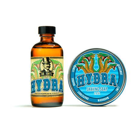 scheerzeep + Aftershave Set // Hydra