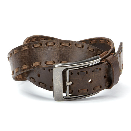 Souled Out // The Duke Belt // Brown