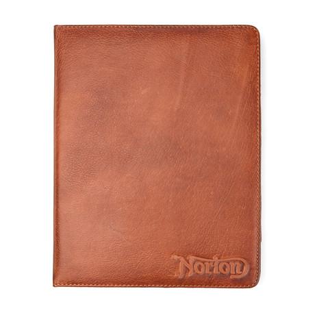 Leather iPad Case // Tan
