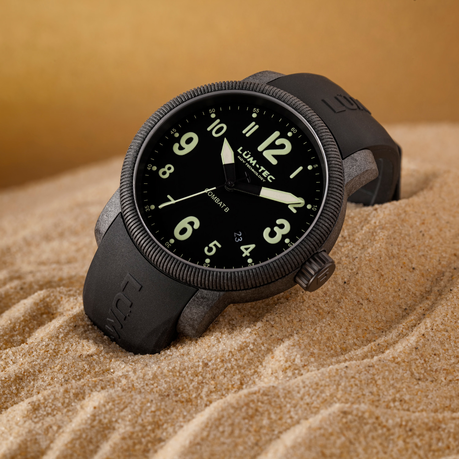 modern quartz m combat l watches sales of wearing original large tec lum touch worth