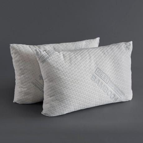 Blended Memory Foam Pillow // Set of 2