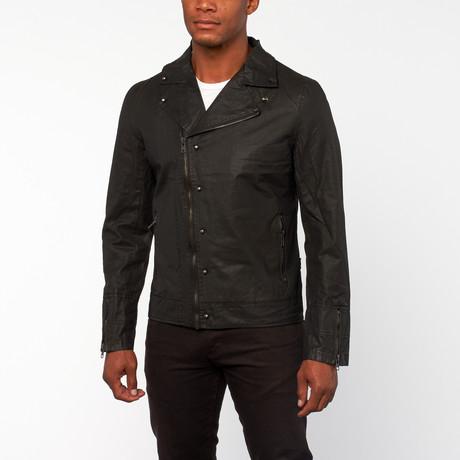 De Snitch Twill Jacket // Black