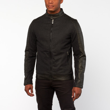Brixton Biker Jacket // Black