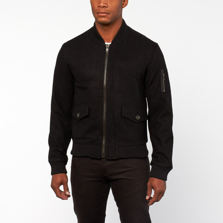 Norris Jacket // Black