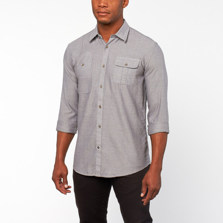 Stronghold Button-Up shirt // Houtskool