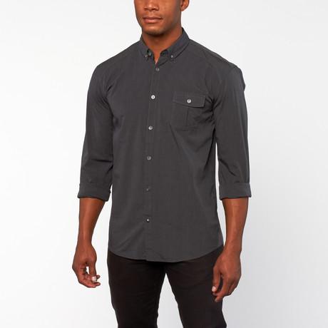 Tisdale Button-Up shirt // Black
