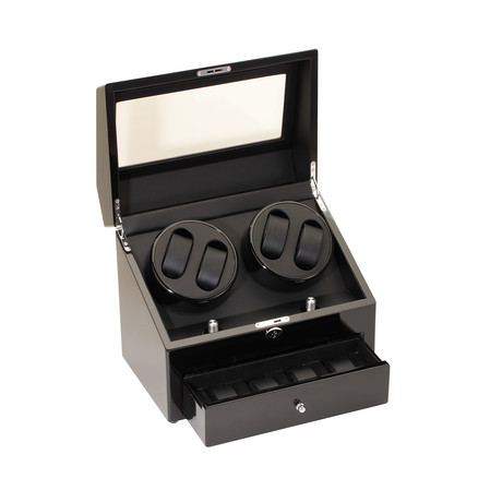 Quad Watch Winder // Black
