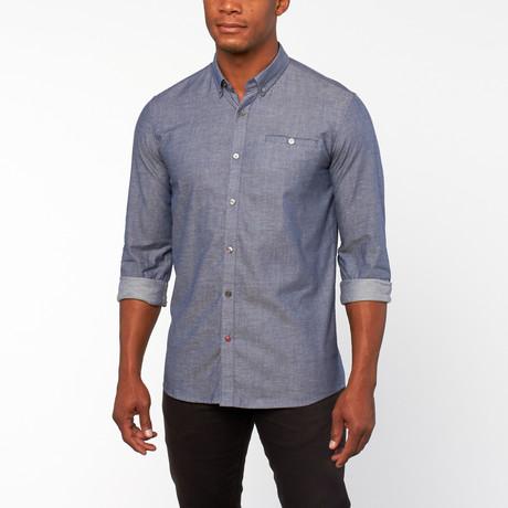 Shefield Yarn Overleden shirt // Blue