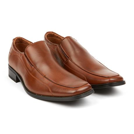 Mannen Dress Leegloper // Light Brown