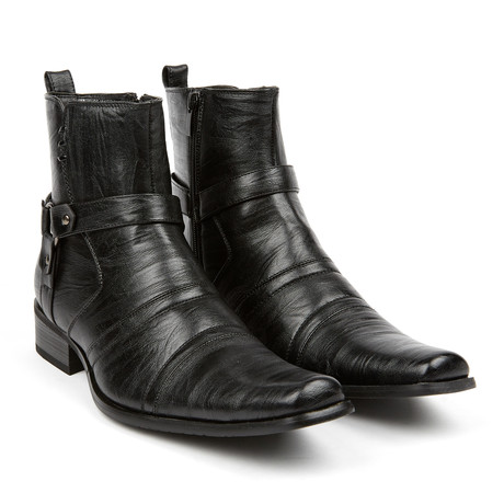 Moto Boot + Zijrits // Black