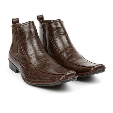 Chelsea Boot + Zijrits // Dark Brown