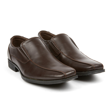 Essentiele Dress Loafer // Dark Brown