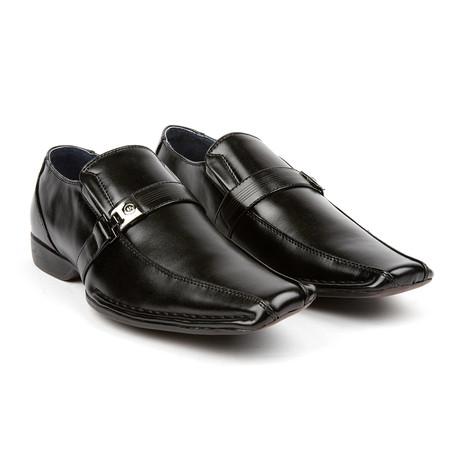 Dress Loafer + Gesp // Black