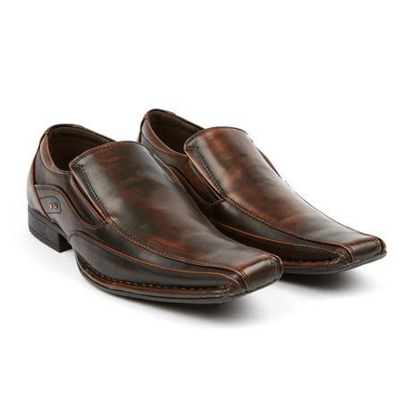Dress Loafer + Nagel Accent // Dark Brown
