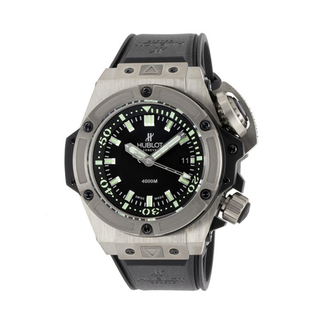Hublot King Power Oceanographic Automatic // 731.NX.1190.RX // Unworn