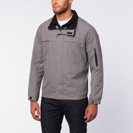 Ripstop Nylon Jacket // Houtskool