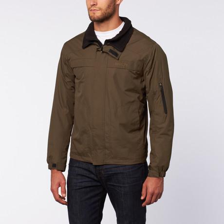 Ripstop Nylon Jacket // Olive