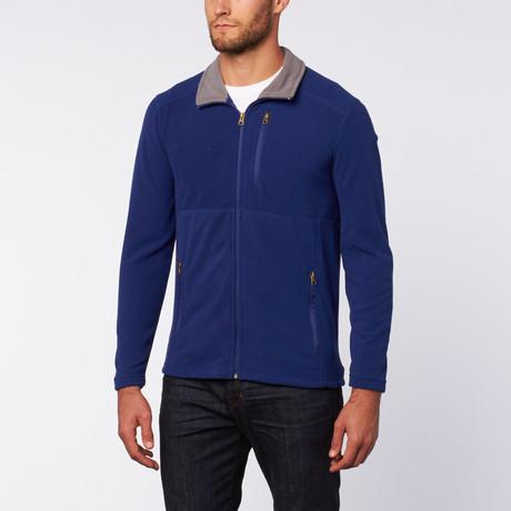 Micro Fleece Zip Jacket // Royal Blue