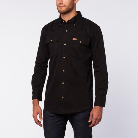 Twill Werk Shirt // Black