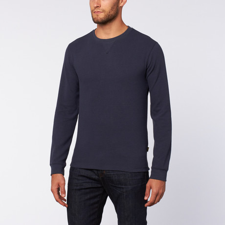Thermal Crew Neck // Blue Nights