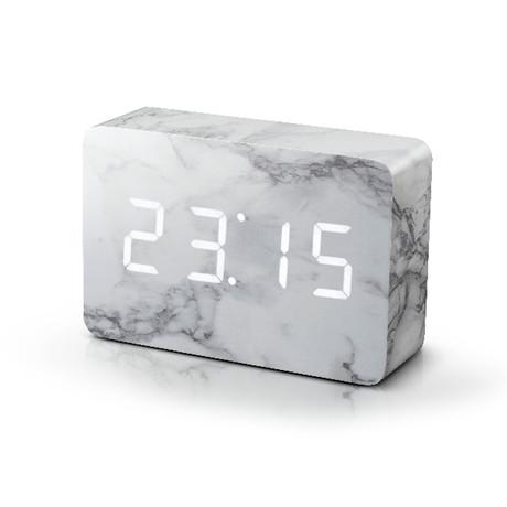 Brick Click Clock // Marble