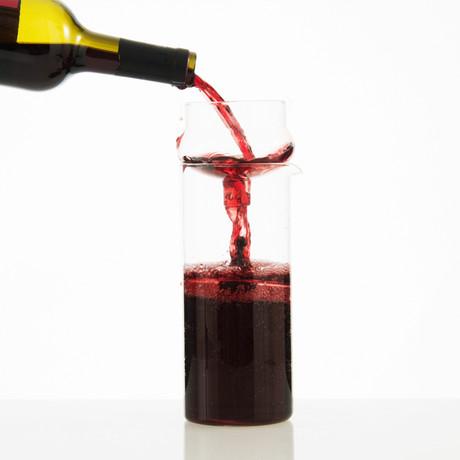 Float 2 wijn Beluchter and Preserve // 1 Stuk