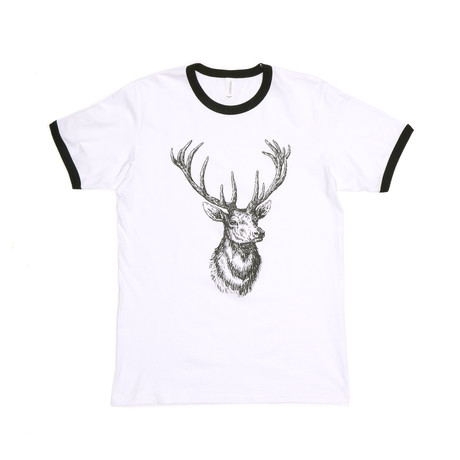 Deer Bel van // White + Black