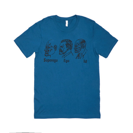 Id, Ego, Super Ego Tee // Deep Teal