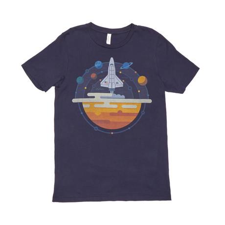 80 NASA Tee // Navy