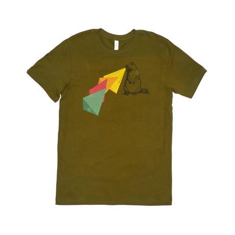 Eekhoorn Visie Tee // Gold