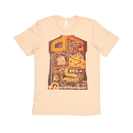 Man Zoals Industrial Machine Tee // Cream