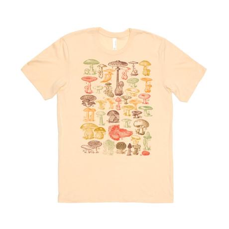 Mushroom Tee // Cream