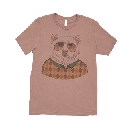 Bear Zonnebril Tee // Pebble