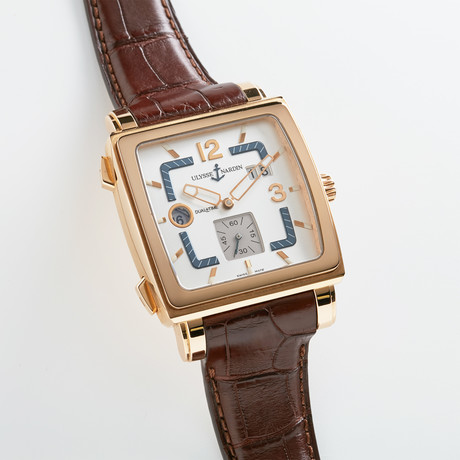 Ulysse Nardin Quadrato Dual Time Automatische // 246-92 / 600
