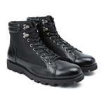 Cermona Leather Boot // Black (US: 9)