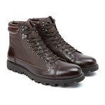 Cermona Leather Boot // Brown (US: 10.5)